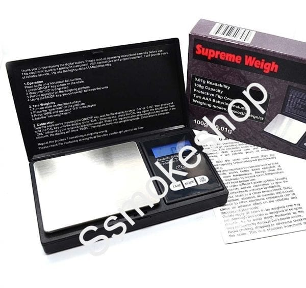 Brand New SUPREME WEIGH DIGITAL POCKET SCALE 100g 0.01g SW13
