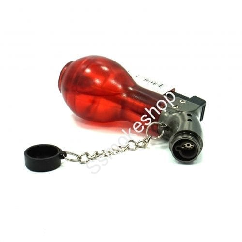 Windproof Single Side Jet Torch Flame Refillable Butane Cigar Cigarette Gas Lighter