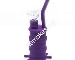 08-502-8-inches-silicone-water-pipe-bong-oil-rig-with-glass-bowl-001