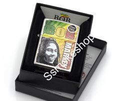 Zippo Bob Marley Design-1 Throwback Lighter