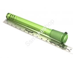 color down stem green GLASS DIFFUSED DOWNSTEM