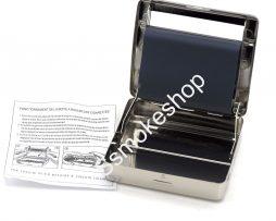 Silver Metal Rolling Machine Case Storage Cigarette Roller