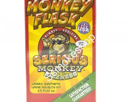Serious Monkey Flask Unisex Synthetic Urine Novelty Kit