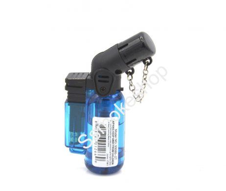 "GoldenStar 3"" Dual Jet Torch Flame Mini Lighter"