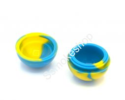 "1.5"" Ball Silicone Safe Container Jars Dab For Concentrate Oil Wax"
