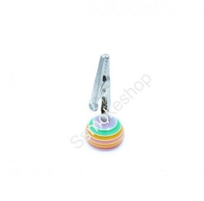 "2.5"" Crystal Candy Design Roach Clip (1 Piece)"