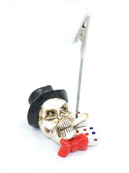"""2.5"""" Roach Clip Skull Design"""