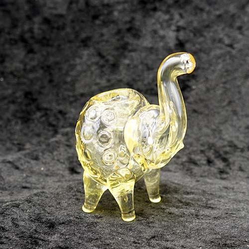 Color Change Elephant Glass Pipe