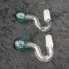Curve Bent Oil Burner set of 2