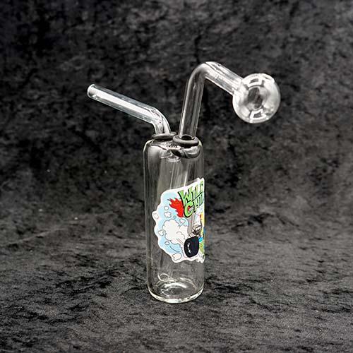 Stand Cylinder Thick Bubbler Oil Burner
