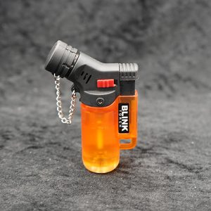 Single Torch Lighter Orange