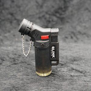 Single Torch Lighter Black