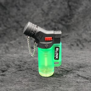 Single Torch Lighter Green