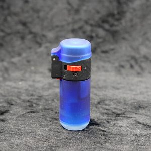 Single Torch Straight Lighter Blue