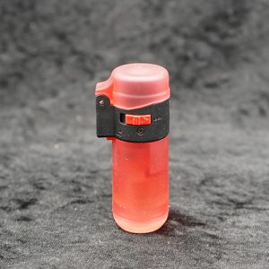 Single Torch Straight Lighter Red