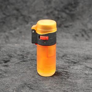 Single Torch Straight Lighter Orange