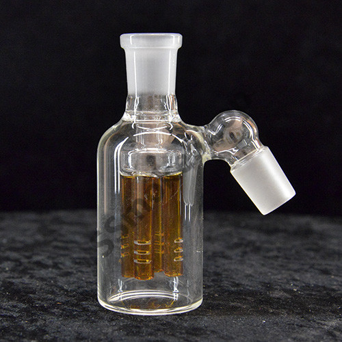 Glass ash catcher with perc