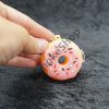 Donut Silicone Keychain Pipe