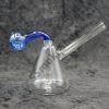 Glass Cone Body Blue Neck Oil Burner Bubbler
