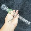 Jumbo dual bubbles oil burner pipe