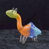 Glass Animal Pipe Dinosaur