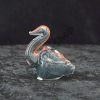 Glass Animal Pipe Swan