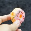 Silicone Donut Keychain Pipe