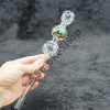 Fancy Design Triple Bubbles Oil Burner Glass Pipe