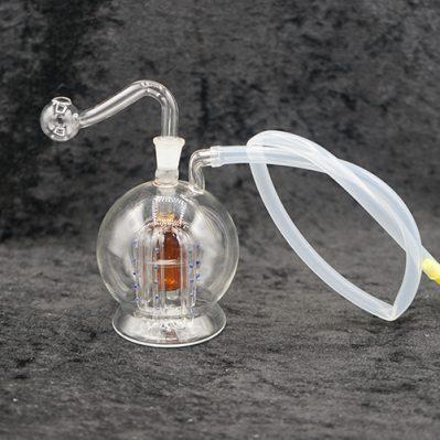 Oil Burner Bubbler Round 10mm Inside Design