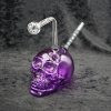 New Color Skull Oil Burner Bubbler