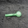 Glass Oil Burner Pipe 4 inches Light Green