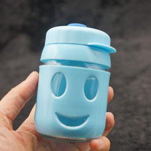 Color Sleeve Glass Bottle Oil Burner Bubbler 7 inches