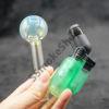 Color Change Oil Burner Glass Pipe with Torch Lighter Set